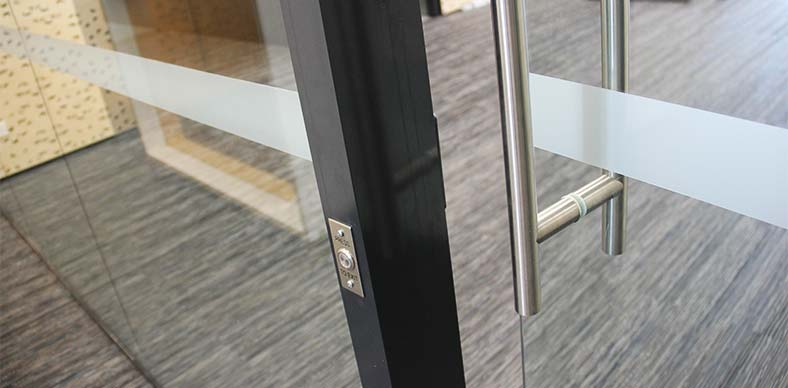 DOOR HAZARD PROTECTION DECALS macquarie university sydney