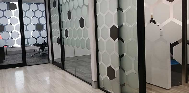 Window Frosting Print Design In Sydney