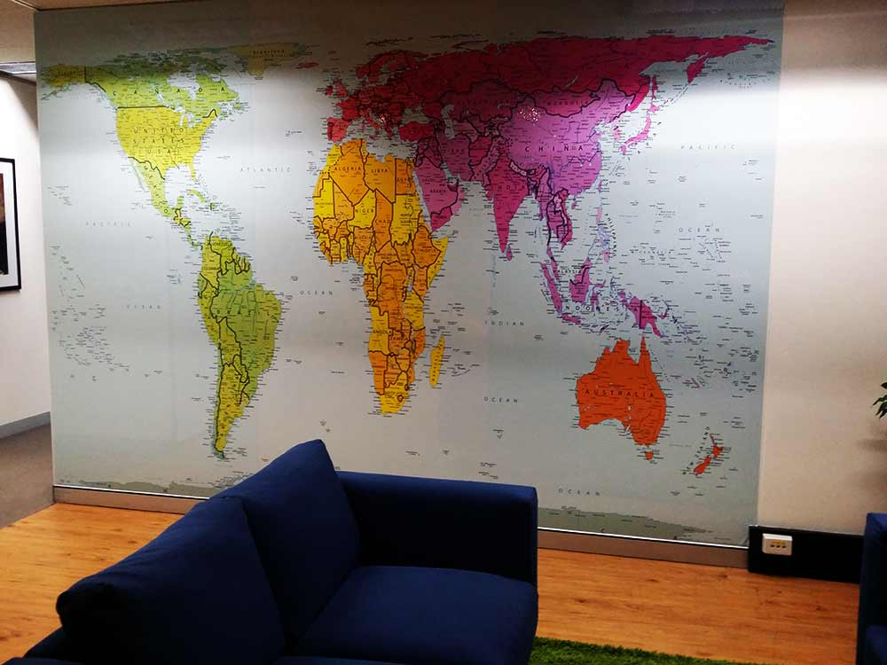 world-map-printed-whiteboard-unicef-sydney