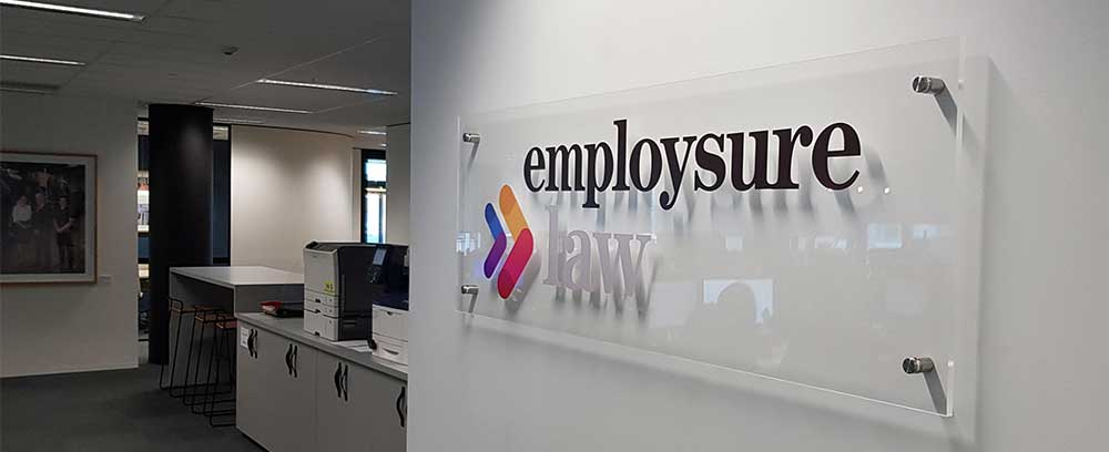 Adding a dimension of Quality with Acrylic office reception signage