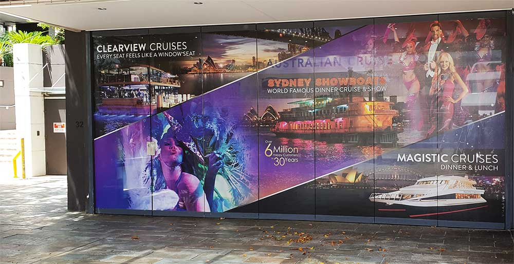 Cruising to spectacular results: one-way vision window graphics