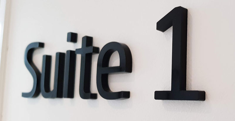 3D-sign-black-acrylic-suite-number-sydney