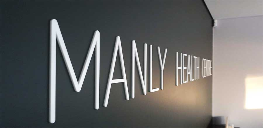 3D-signage-Manly-Health-Centre-Sydney