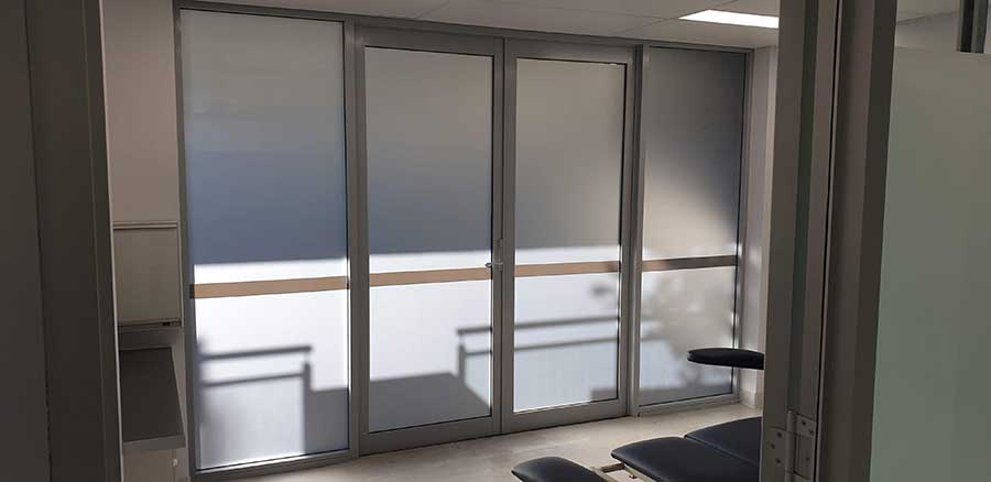window-frosting-Manly-Health-Centre-Sydney