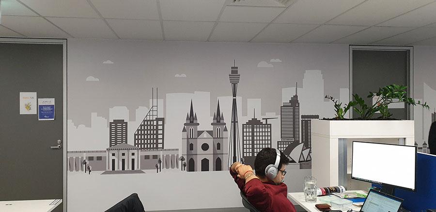 wall-print-sign-akamai-sydney