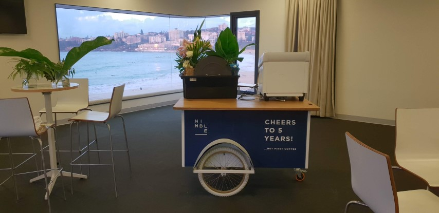 exhibition-cart-sign-bondi-beach